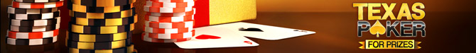 Texas Poker For Prizes - Online Hold'em Action
