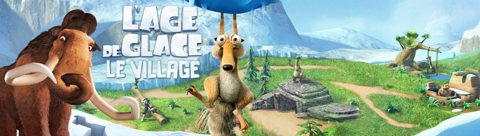 L'ge de Glace : Le Village HD GRATUIT