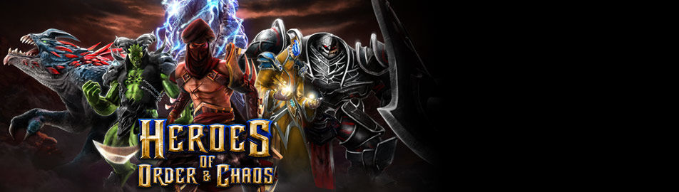 Heroes of Order & Chaos - Jeu multijoueur en ligne