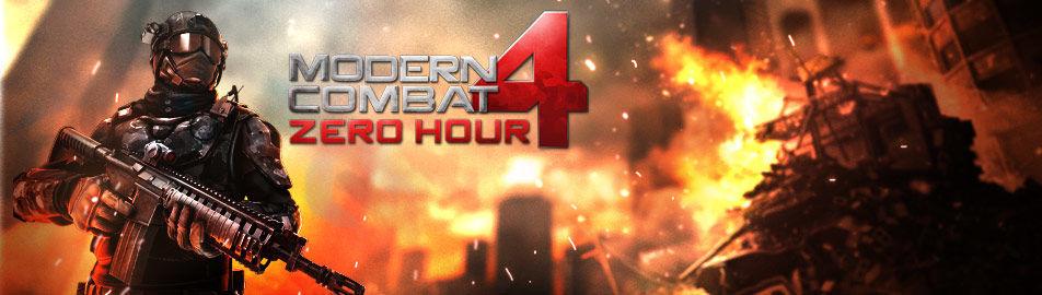 Modern Combat 4: Zero Hour HD