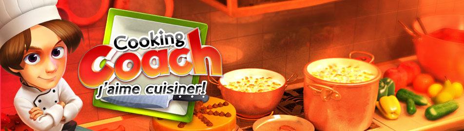 Cooking Coach, j'aime cuisiner !