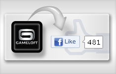 Join Gameloft on Facebook
