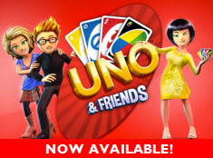 UNO & Friends now available!